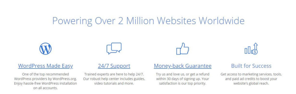 Bluehost Powering Over 2 Million Websites Worldwide