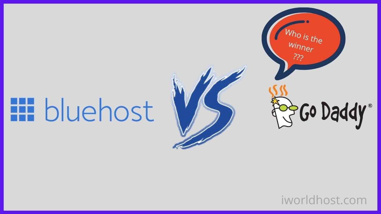 Bluehost vs GoDaddy for WordPress Blog