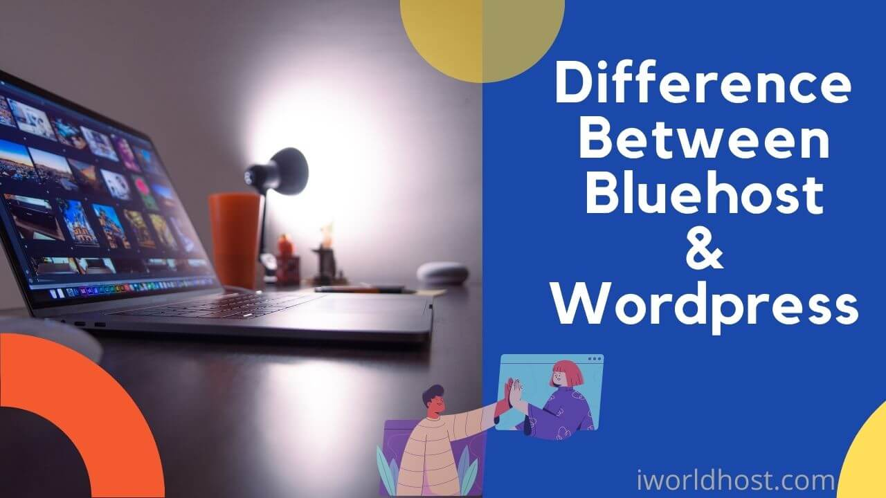 What is the difference between wordpress and bluehost